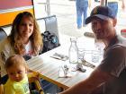 Happy customers at Teddy's Diner in Elk Grove Village