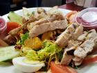 Refreshing salad at Teddy's Diner in Elk Grove Village