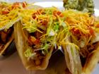 The famous tacos at Teddy's Diner in Elk Grove Village