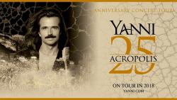 Yanni in Chicago for Live at the Acropolis 25th Anniversary Tour