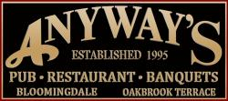 Anyway's Pub and Resaurant logo