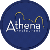 Logo for Athena Greek Restaurant in Chicago