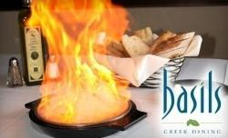 Basil's Greek dining in Aurora