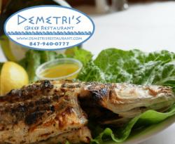 Demetri's Greek Restaurant in Deerfield