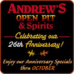 Andrew's 26th Anniversary October Specials - Park Ridge
