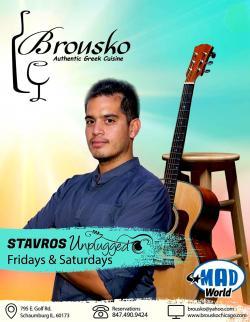 Live Music at Brousko Greek Restaurant - Schaumburg