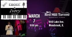 Ebony & Ivory Live at Niko's Red Mill Tavern - Woodstock