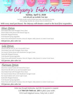 Easter Sunday Catering Packages at Odyssey Banquet Venue - Tinley Park