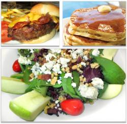 Burgers, pancakes, salads at Bentley's Pancake House in Wood Dale