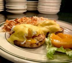 Diamand's Family Restaurant in Joliet - Eggs Benedict