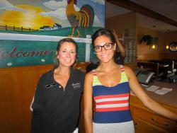Friendly staff at Bentley's Pancake House & Restaurant in Wood Dale