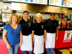 The friendly and efficient staff at Craving Gyros in Lake Zurich