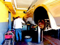 Another quality brake job at Grendel's Oil & Auto Repair in Niles