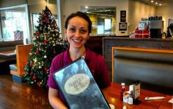 Merry Christmas from the friendly staff at Jasper's Cafe in Glenview