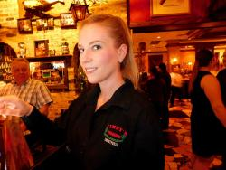 Friendly wait staff at Jimmy's Charhouse in Libertyville