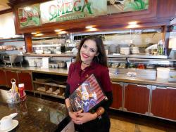 Friendly staff at Omega Restaurant & Pancake House in Schaumburg