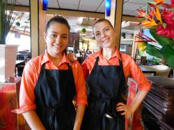 Friendly staff at Papagalino Cafe & Pastry Shop in Niles