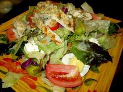 The Mediterranean Salad at Rose Garden Cafe in Elk Grove Village