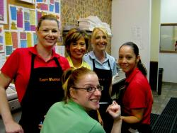 Friendly staff at Tasty Waffle Restaurant in Romeoville