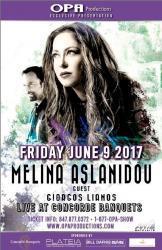 Melina Aslanidou Concert at Concorde Banquets in Kildeer