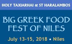 Big Greek Food Fest of Niles, 2018