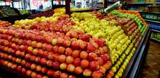 Nice selection of fresh apples at 95th Produce Market in Hickory Hills
