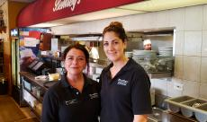 Friendly servers at Bentley's Pancake House & Restaurant in Wood Dale