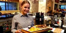 Friendly staff at Brousko Authentic Greek Cuisine in Schaumburg