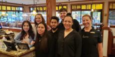 Friendly staff at Burnt Toast Restaurant in Algonquin