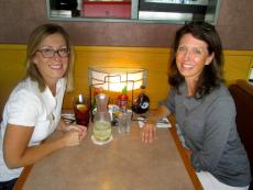 Friends enjoying lunch at Butterfield's Pancake House & Restaurant in Naperville
