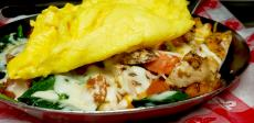 The Chicken Skillet at Butterfield's Pancake House & Restaurant in Northbrook