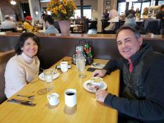 Couple enjoying lunch at Butterfield's Pancake House & Restaurant in Oakbrook Terrace
