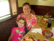 Young customer celebrating 5th birthday at Canteen restaurant in Barrington