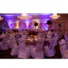 Beautifully designed ballroom at Cotillion Banquets in Palatine