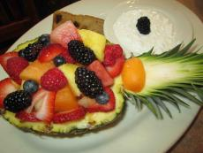 Refreshing Fruit Salad at Downers Delight in Downers Grove