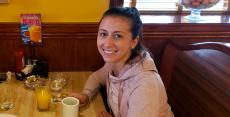 Happy customer at Downers Delight Pancake House & Restaurant Downers Grove