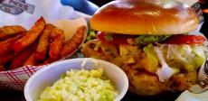 The tasty chicken sandwich at Draft Picks Sports Bar in Naperville