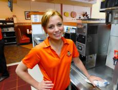 Friendly staff at Eggs Inc. Cafe in Naperville