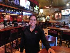 Friendly bar staff at Jimmy's Charhouse in Libertyville