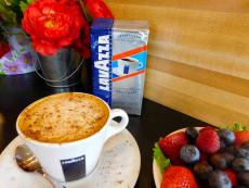 Quality Lavazza Coffee served at Stacked Pancake House in Oak Lawn
