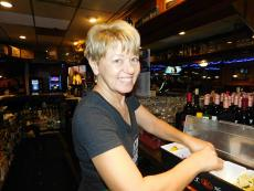 Friendly bar staff at Market Square Restaurant in Wheeling