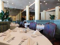 The famous dining room at Palm Court in Arlington Heights