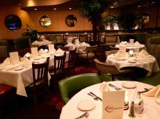 The famous piano lounge at Palm Court Restaurant in Arlington Heights