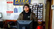 Friendly staff at Pete's Service Center in Burbank
