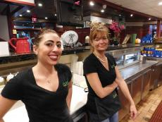 Friendly servers at Pub 83 Pizza & Burgers in Long Grove