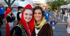 Agape dance performers at the St. Sophia Greek Fest in Elgin