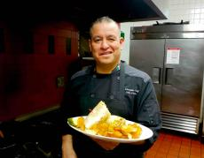 Executive Chef Luis at Union Ale House in Prospect Heights