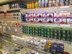 Greek yogurt and more at Village Market Place in Skokie